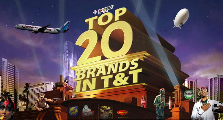 top 20 trinidad and tobago brands 2010