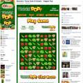 Boomers' Veggie Pop Facebook Application Tab