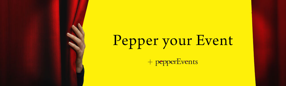 Pepper your event