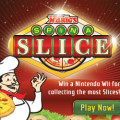 Mario's Pizza Spin a Slice Social Game Online Ad